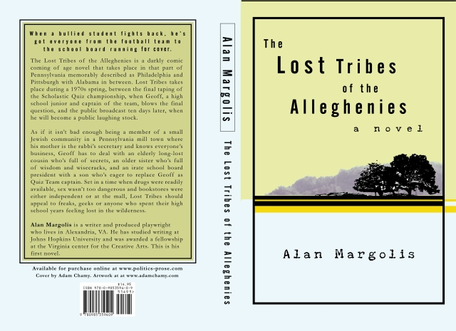 Cover Layout for Lost Tribe of the Alleghenies by Alan Margolis